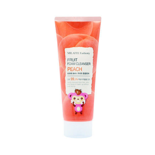 Очищение кожи Пенка для умывания с Персиком, MILATTE, Fashiony Fruit Foam Cleanser Peach , 150мл milatte-fashiony-fruit-peach-foam-cleanser-6511.jpg