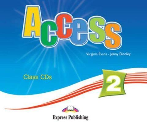 Access 2. Class Audio CDs. (set of 4). Elementary. Аудио CD для работы в классе.