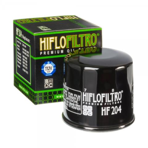 Масляный фильтр Hiflofiltro HF-204 для мотоцикла Honda, Kawasak, Suzuki, Triumph, Yamaha