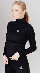Женская флисовая толстовка Nordski Pro Black W