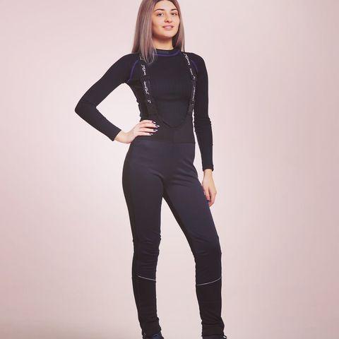 Разминочные брюки Nordski Active Black W женские