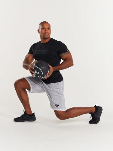 Футболка мужская для йоги и фитнеса