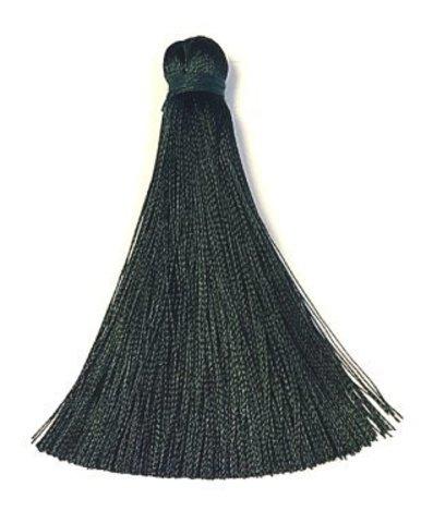 Кисточка 7см, цвет серо-черный