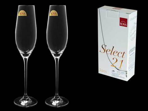 Набор из 2 бокалов для шампанского «Celebration», 210мл