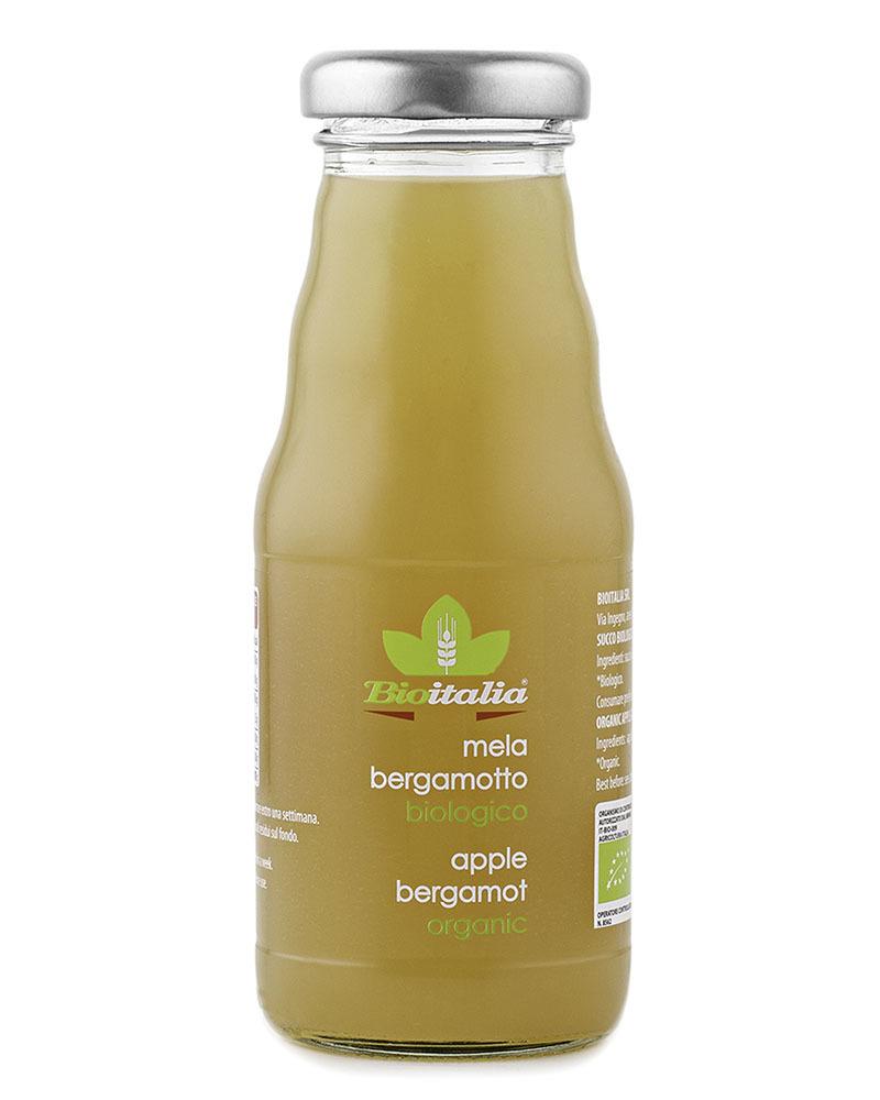 BIOITALIA Apple and bergamot juice 200 ml.