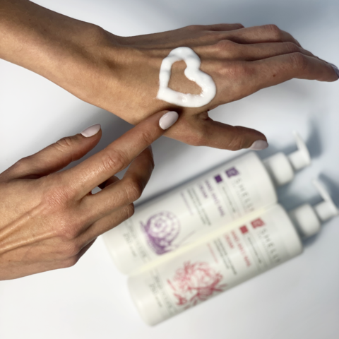 Крем для рук та нігтів з колагеном, еластином і екстрактом півонії Shelly 500 мл (2)