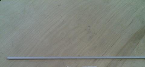 13046751 Труба ПВХ диа. 8/6х500 мм