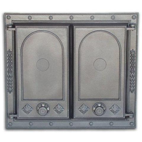 Дверца двустворчатая глухая DW7 H1507