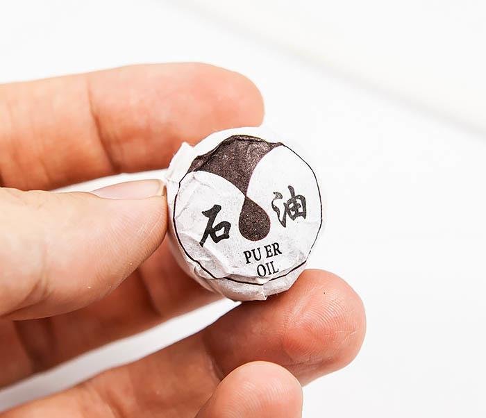 TEA-CH120 Шу Пуэр «Нефть» - мини То Ча (1 шт) фото 08