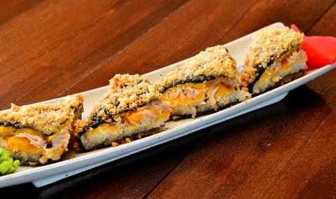 Суши -сэндвич с курицей