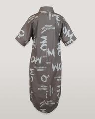 Платье Tessу 6807 надписи к/р