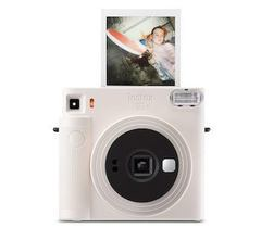 Fotoaparat \ Фотоаппарат моментальной печати Fujifilm Instax SQUARE SQ1, белый Instax SQUARE SQ1