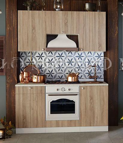 Кухня Техно-1 сонома 1,6 м
