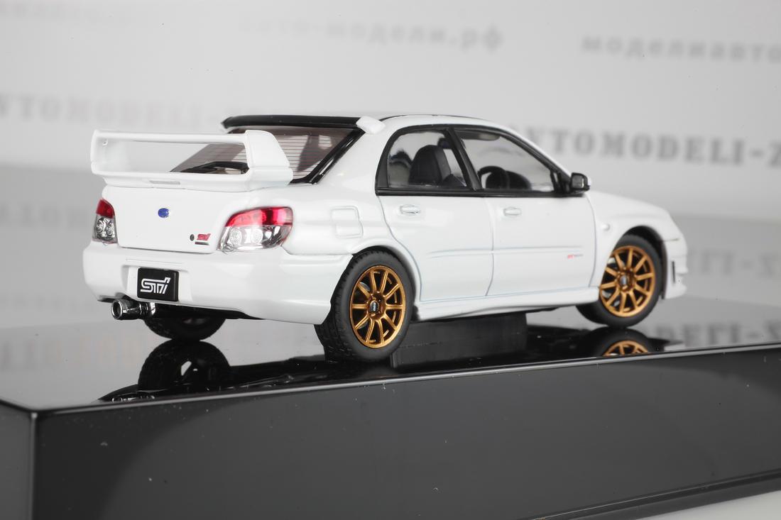 Коллекционная модель Subaru Impreza WRX STi  2006