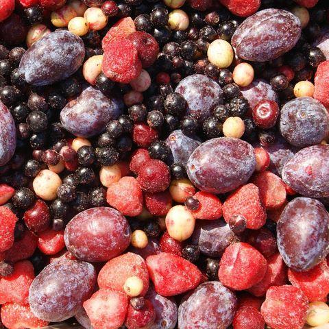 Фруктово-ягодные смеси