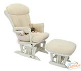 Кресло-качалка Tutti Bambini ROSE GC75  Walnut/cream