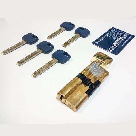Купить Цилиндровый механизм Apecs Premier XR-70-C15-NI с вертушкой