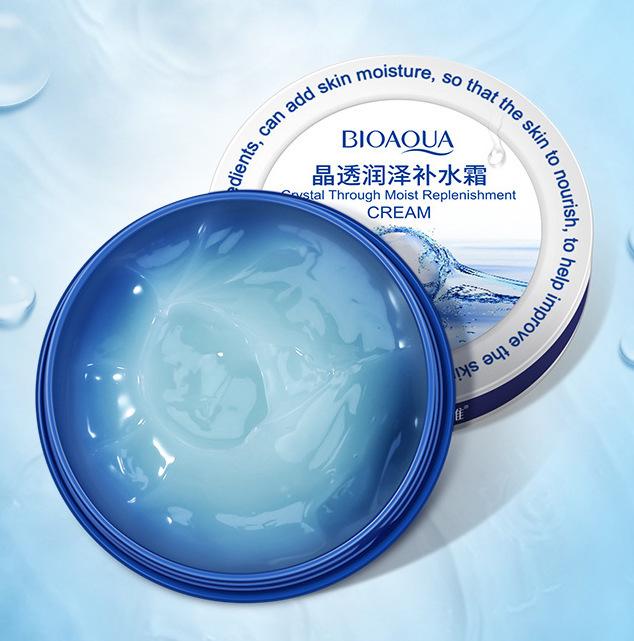 Увлажняющий питательный крем для лица с гиалуроновой кислотой, 38гр.