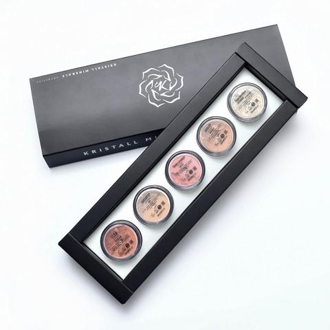 Набор миниатюр для лица №2 Эффектное преображение | Kristall Minerals