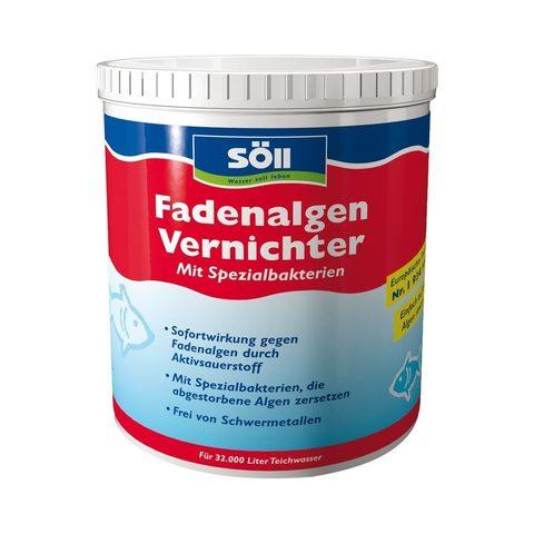 Препарат против нитевидных с водорослей в пруду Soll FadenalgenVernichter 1Kg