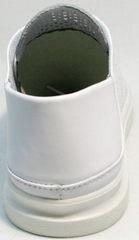 Спортивные туфли модные летние кеды женские ZiKo KPP2 Wite.