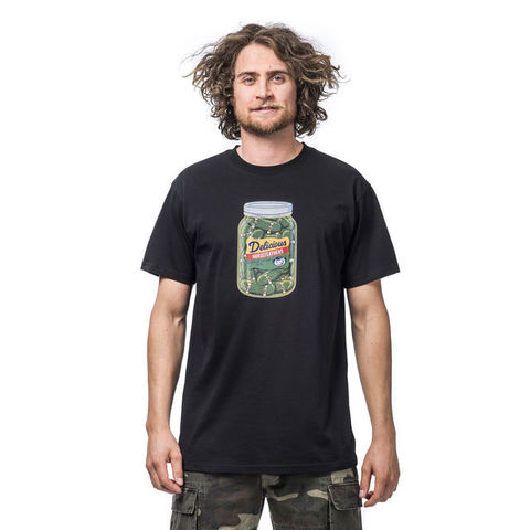 Футболка Horsefeathers Pickles T-Shirt Black