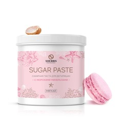 Сахарная паста с минералами розовая, ультрамягкая 800 гр Sherris (шеррис)