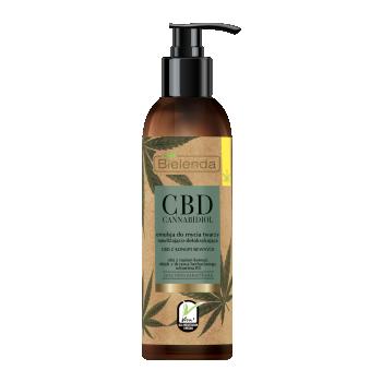 CBD Cannabidiol Эмульсия для умывания с CBD из конопли смеш/жирн. кожа 175мл