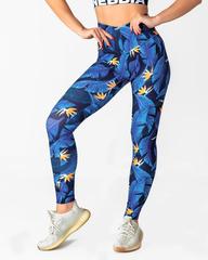 Лосины женские Nebbia High-waist Ocean Power legging 561 SQ.blue