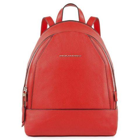 Рюкзак женский Piquadro Muse (CA4327MU/R) красный кожа