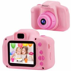 Детский цифровой фотоаппарат розовый