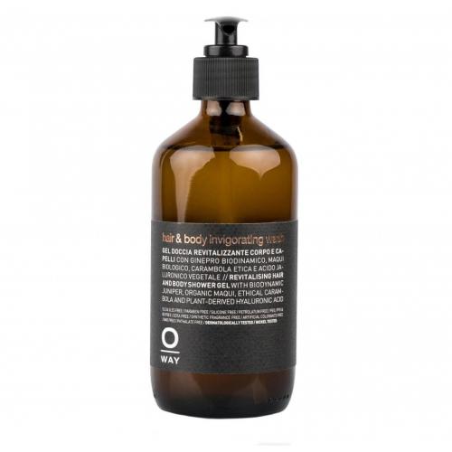 Бодрящий гель-энергетик для душа  HAIR & BODY INVIGORATING WASH