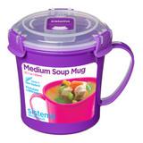 Кружка суповая Microwave 656 мл, артикул 21107, производитель - Sistema, фото 2