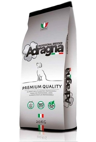 Корм Адрагна для взрослых собак, с Ягнёнком  Adragna Breeder Premium Daily Lamb (20 кг)
