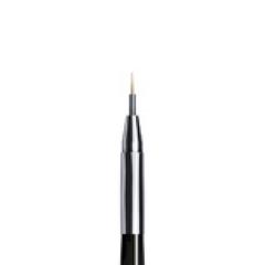 ruNail, Кисть для дизайна Nail Art Nylon, 4 мм № 00/1