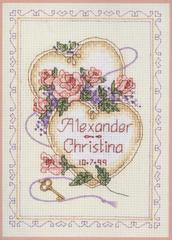 DIMENSIONS United Hearts Wedding Record (Поздравление к свадьбе)