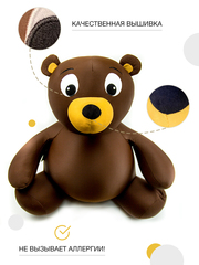 Подушка-игрушка антистресс Gekoko «Медведь Потап» 2
