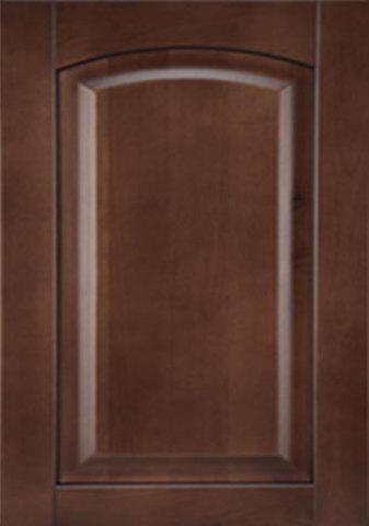Фасад цвет: береза шоколад
