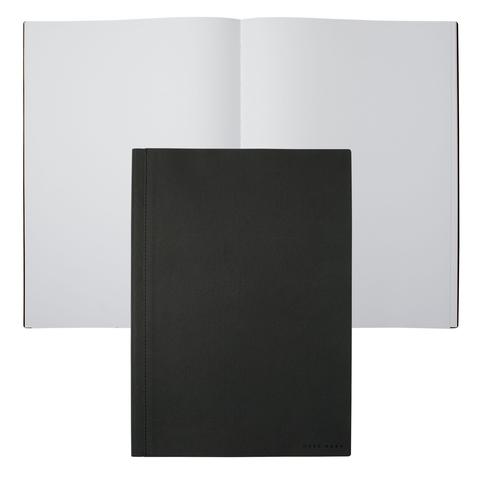 Блокнот A4 Hugo Boss Advance Fabric Dark Grey