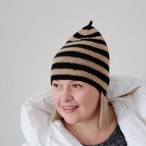 Описание шапки CALAMARY (дизайн-студия Трискеле)