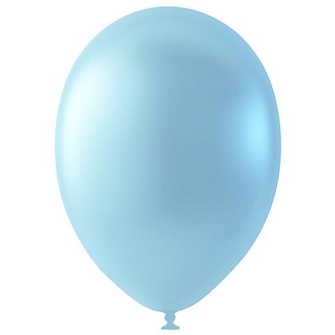Шар Голубой Перламутр (Металлик), 30 см