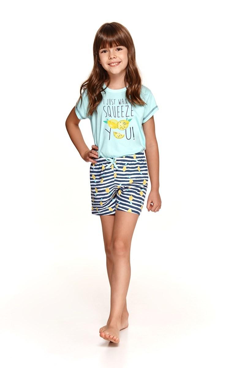 Пижама для девочек с шортами TARO 2200/2201 SS21 HANIA