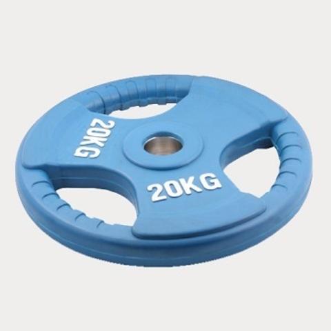 Олимпийский диск евро-классик с тройным хватом 20 кг