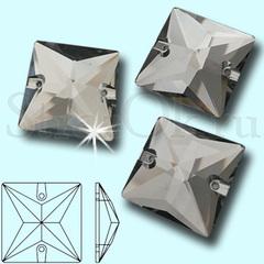 Купите стразы оптом для бального платья квадраты Black Diamond на танцы