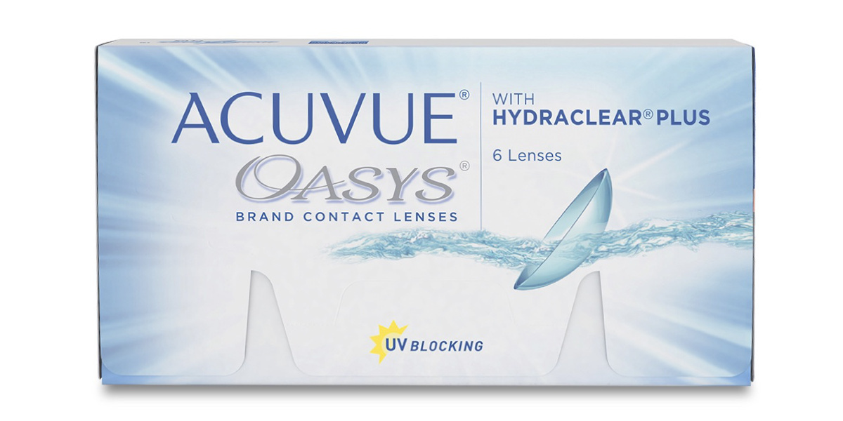 2-weeks Acuvue Oasys (6) (+2 шт. в подарок)