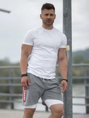 Мужская футболка Nebbia 145 white
