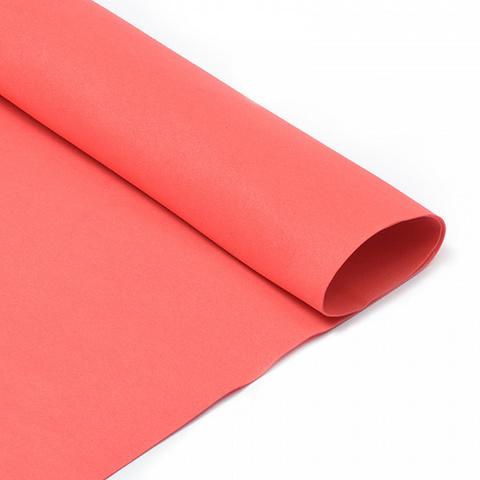 Фоамиран иранский 1мм. Размер: 30*35см. Цвет: красный