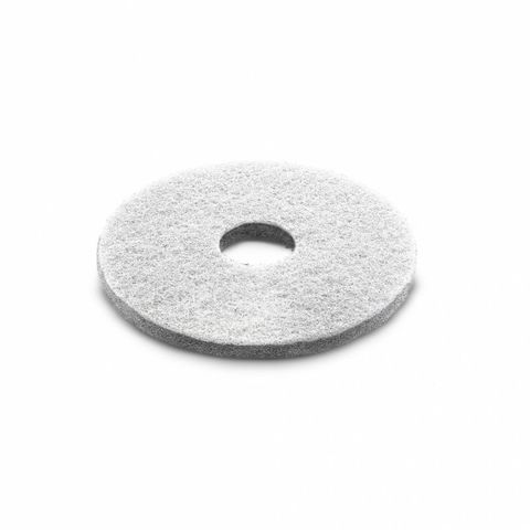 Алмазный пад, Karcher толстый, белый, 356 mm