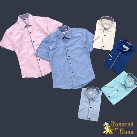 Рубашка мальчику (116-158) 210605-SH78014