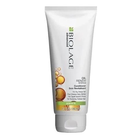 Matrix Biolage Oil Renew: Кондиционер  для сухих, пористых волос с натуральным маслом сои (Oil Renew Conditioner), 200мл/1л